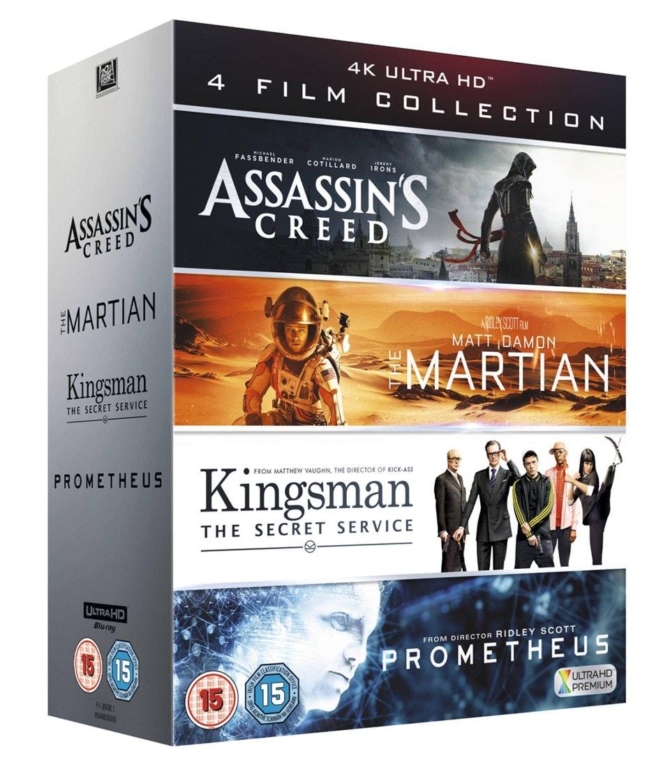 Assassin's Creed/The Martian/Kingsman/Prometheus - 2