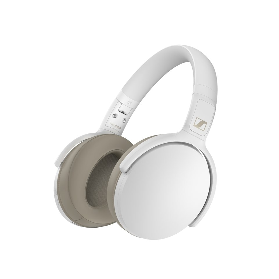 Sennheiser HD 350BT White Bluetooth Headphones (online only) - 1