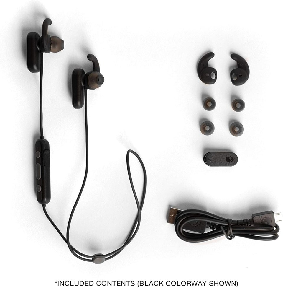 Skullcandy Method Moab Red/Black Active Noise Cancelling Bluetooth Sports Earphones - 3