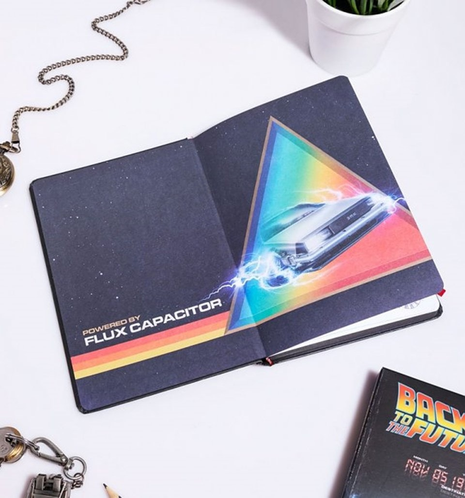 Back To The Future (Great Scott) VHS Premium A5 Notebook - 2