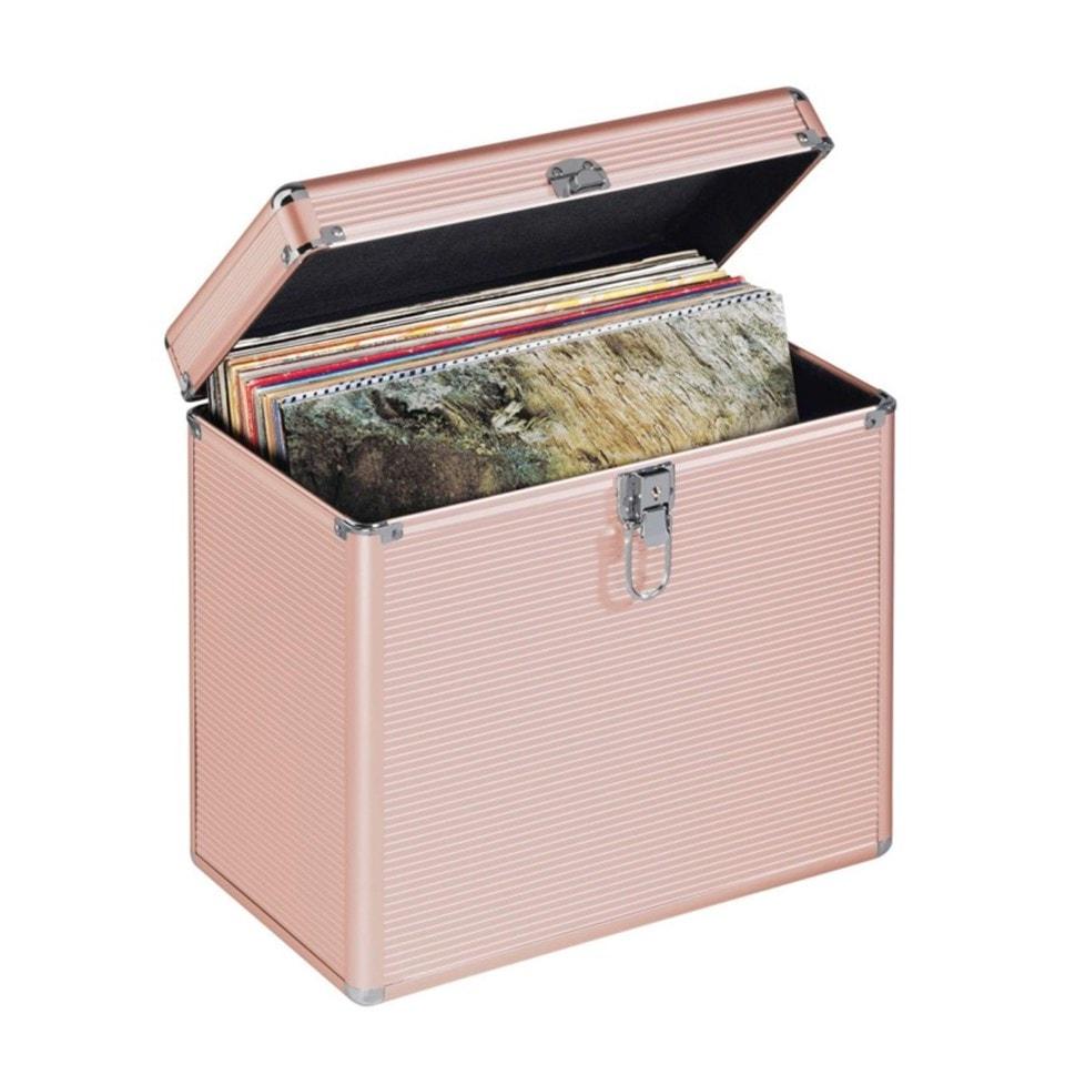 Hama Rose Gold Case for LP Storage - 2