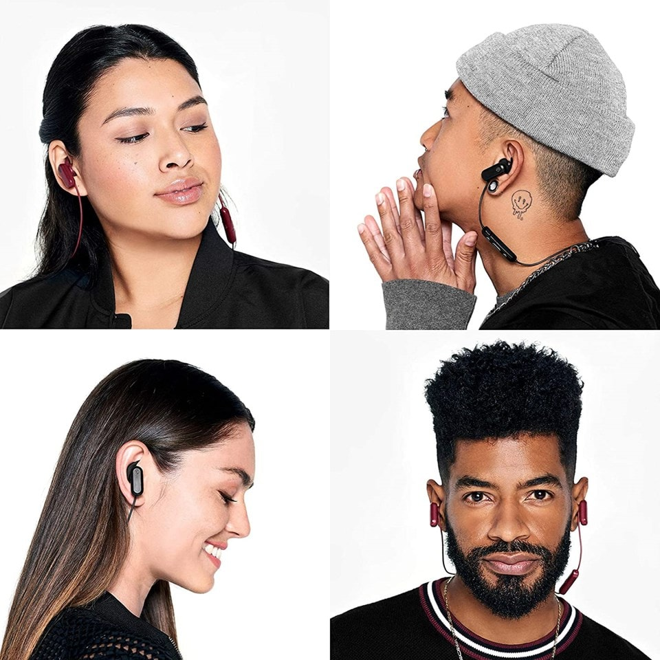 Skullcandy Method Black/Grey Active Noise Cancelling Bluetooth Sports Earphones - 4