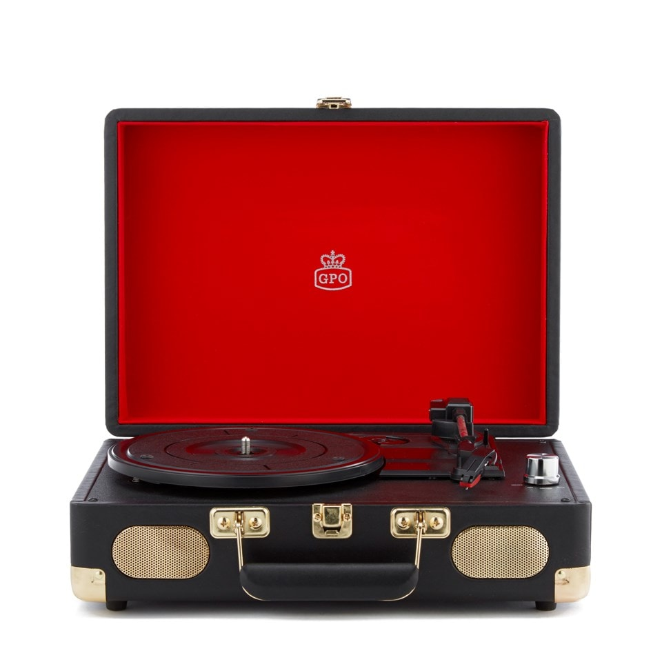 GPO Soho Black Turntable (hmv Exclusive) - 1