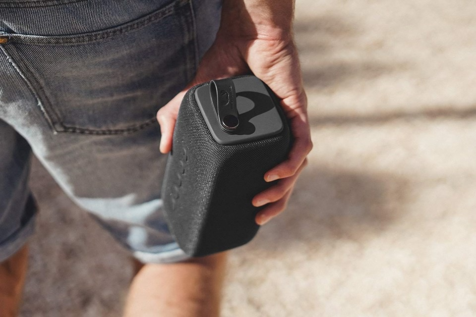 Fresh n Rebel Bold M Storm Grey Bluetooth Speaker - 3