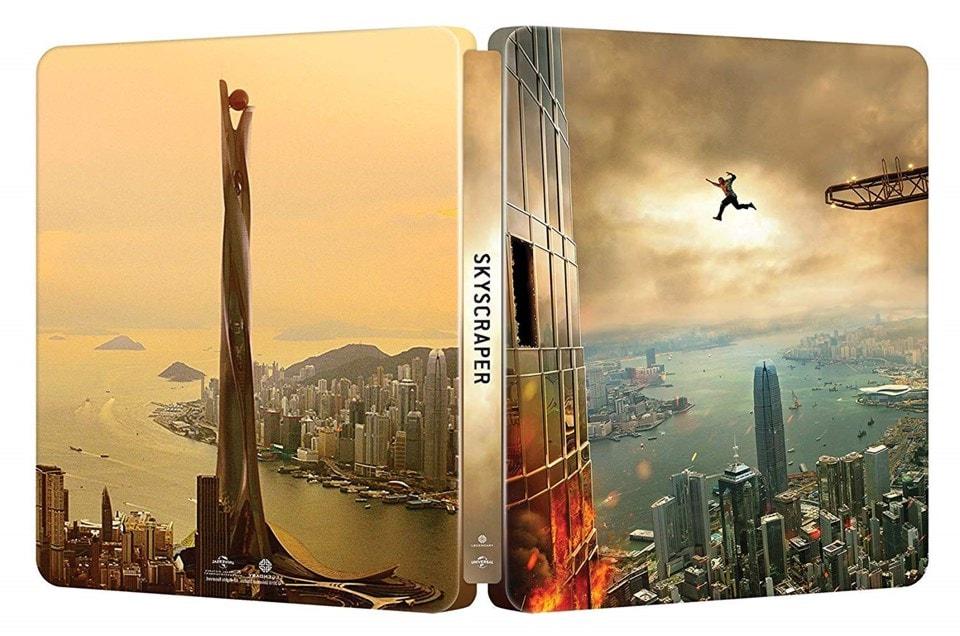 Skyscraper (hmv Exclusive) 4K Ultra HD Steelbook - 2