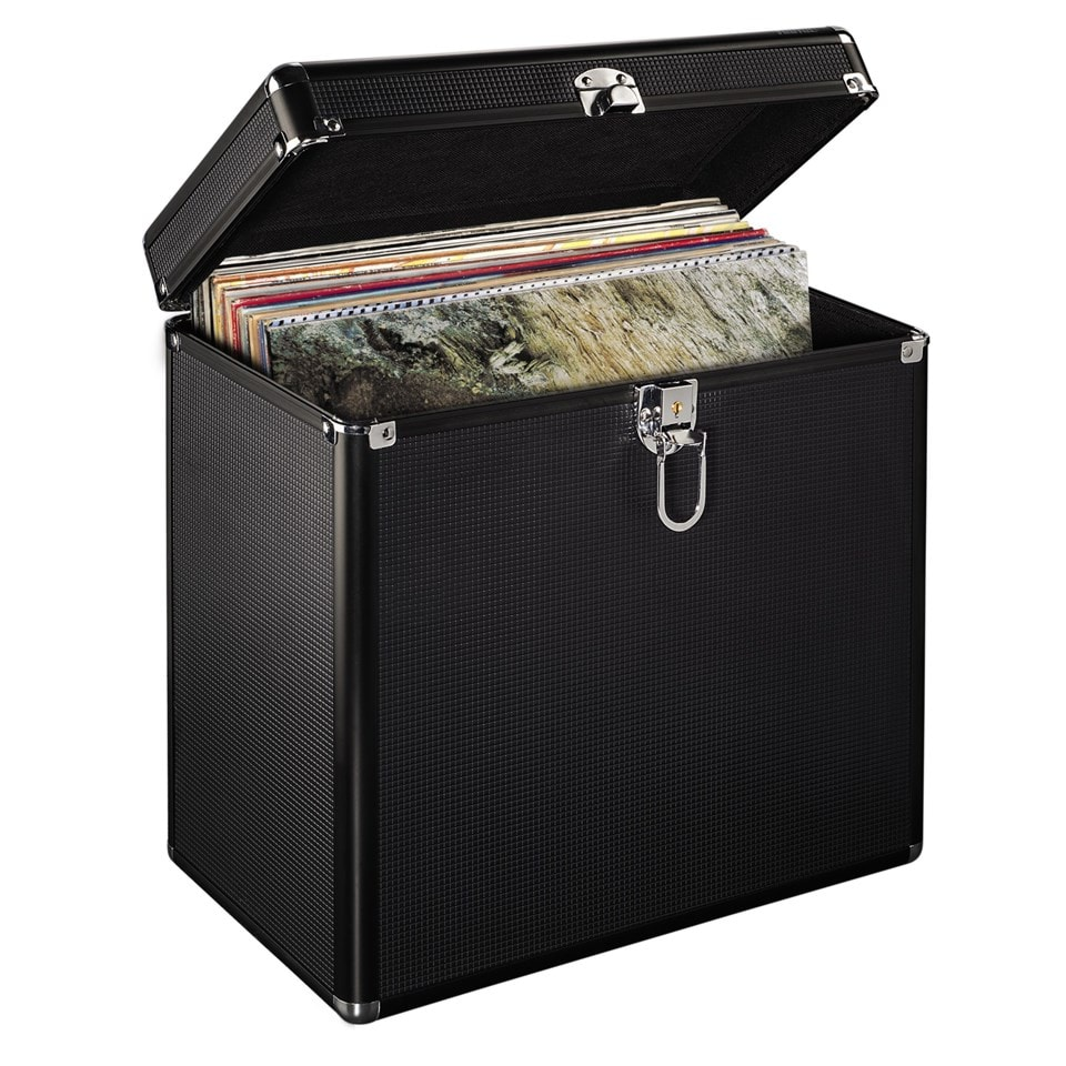 Hama Black LP Storage Case - 2