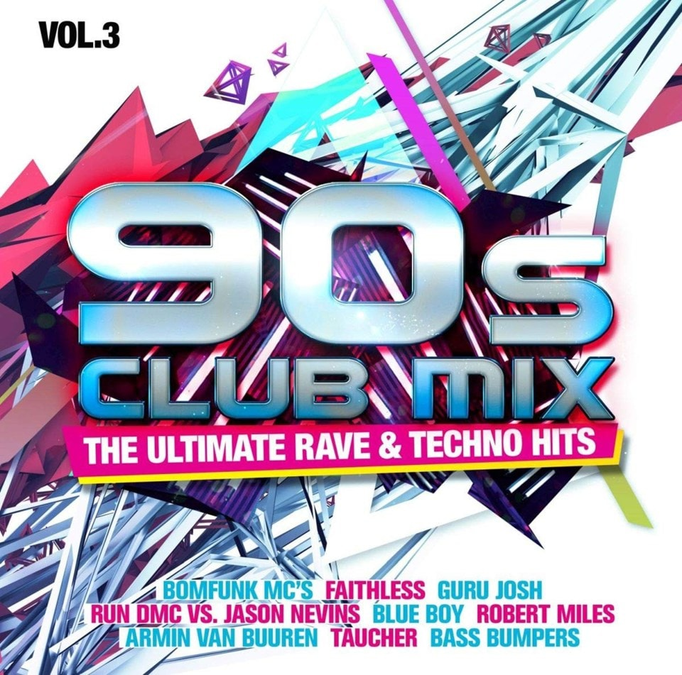 90s Club Mix: The Ultimate Rave & Techno - Volume 3 - 1