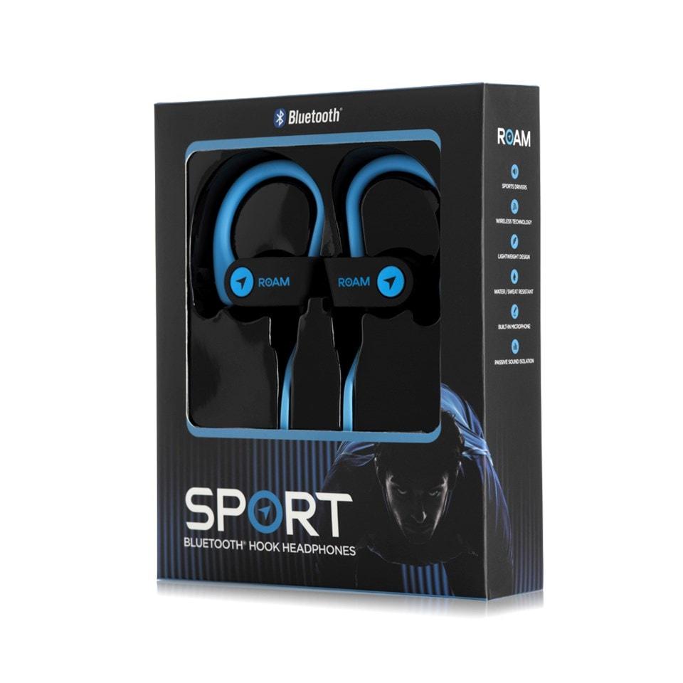 Roam Sport Ear Hook Blue Bluetooth Earphones - 3