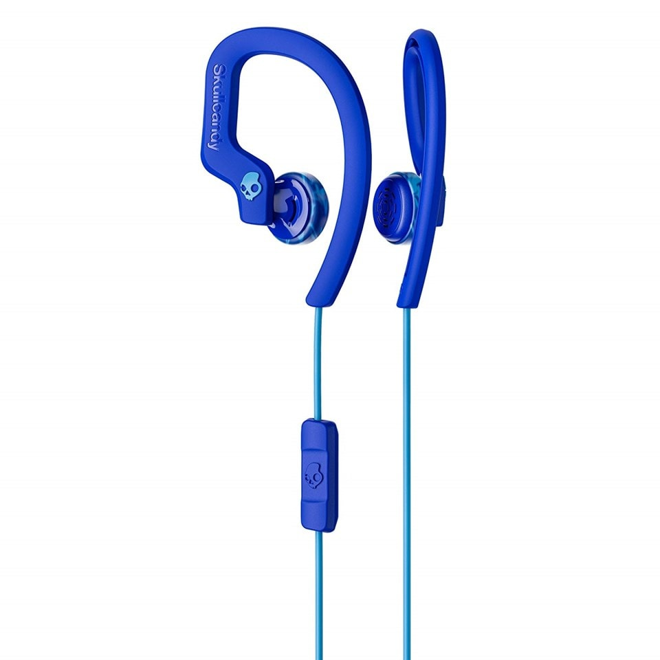 Skullcandy Chops Bud Royal/Blue/Swirl Sports Earphones - 2