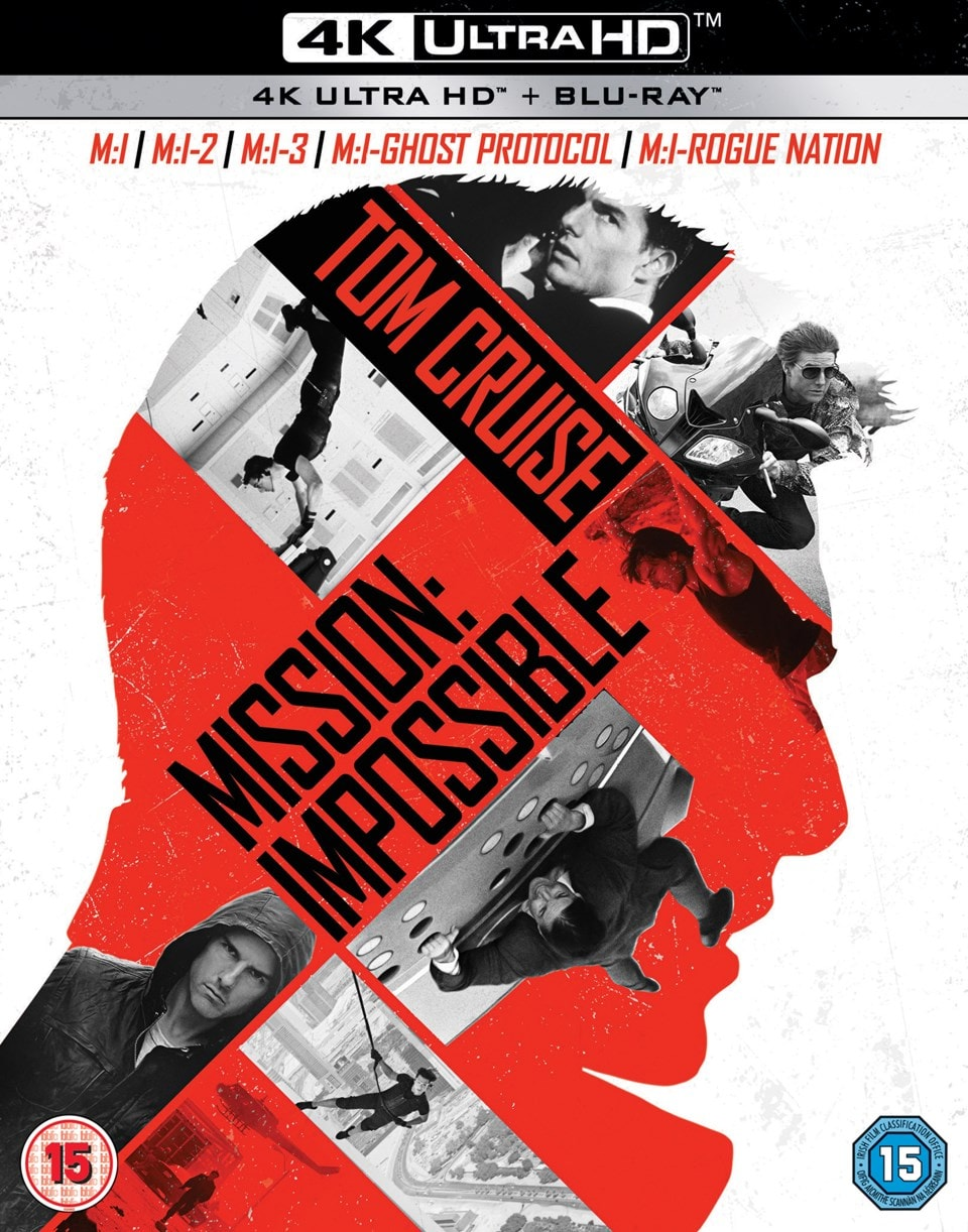 Mission: Impossible 1-5 - 1
