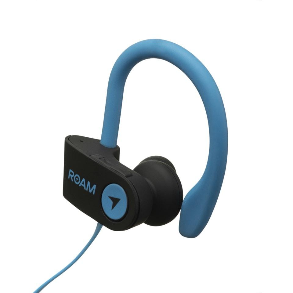 Roam Sport Ear Hook Blue Bluetooth Earphones - 2