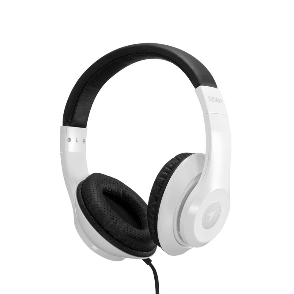 Roam Colours Plus White Headphones W/Mic - 1