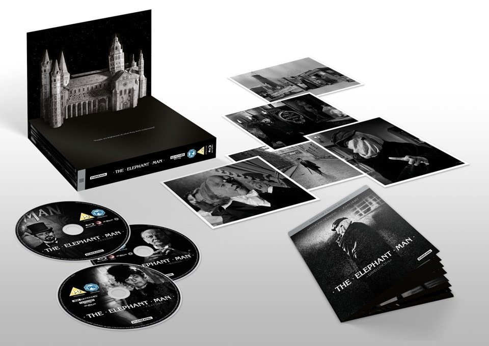 The Elephant Man: 40th Anniversary Edition 4K Ultra HD Collector's Edition - 1