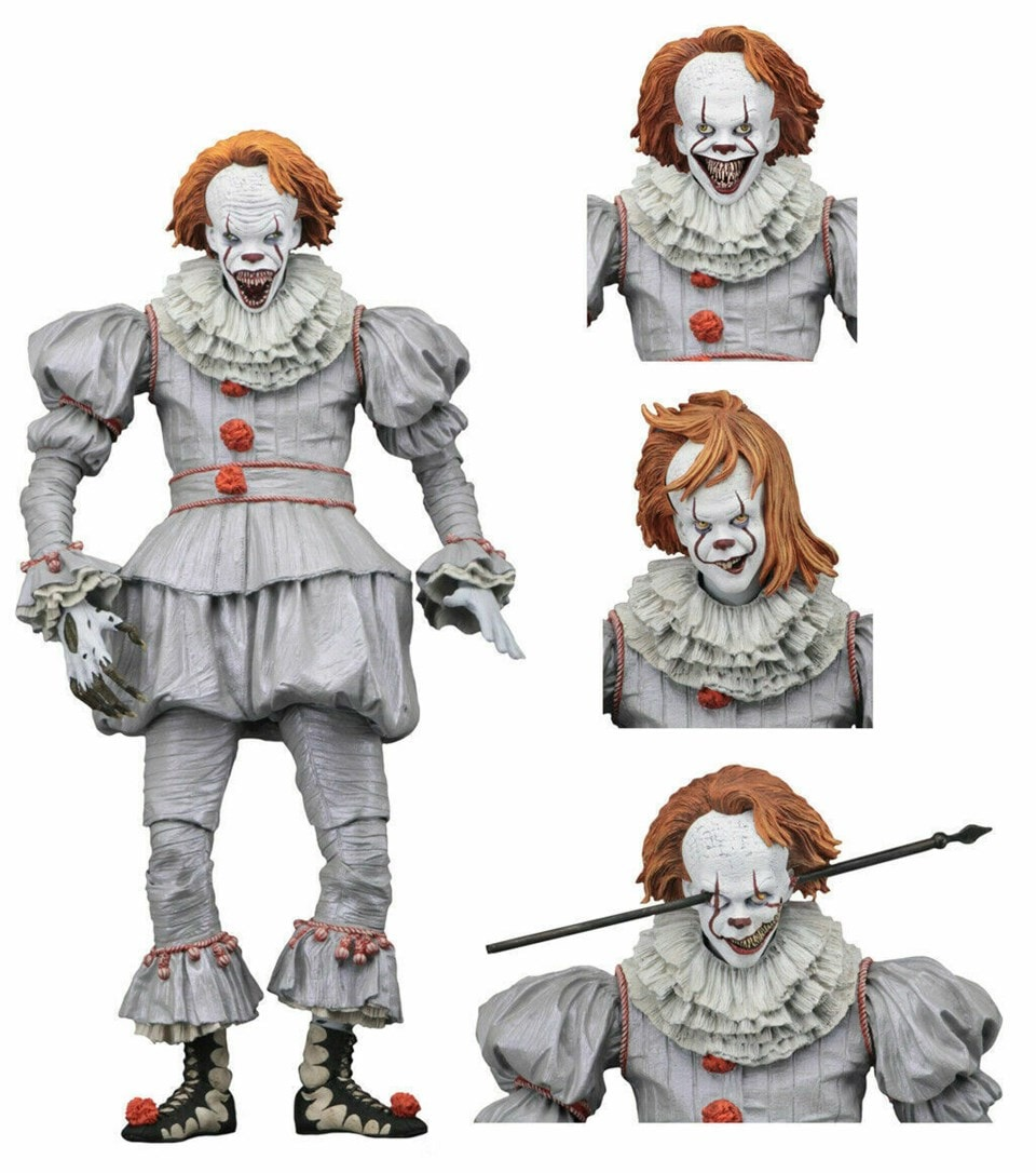 """Pennywise 7"""" Scale Action Figure: IT - 1"""