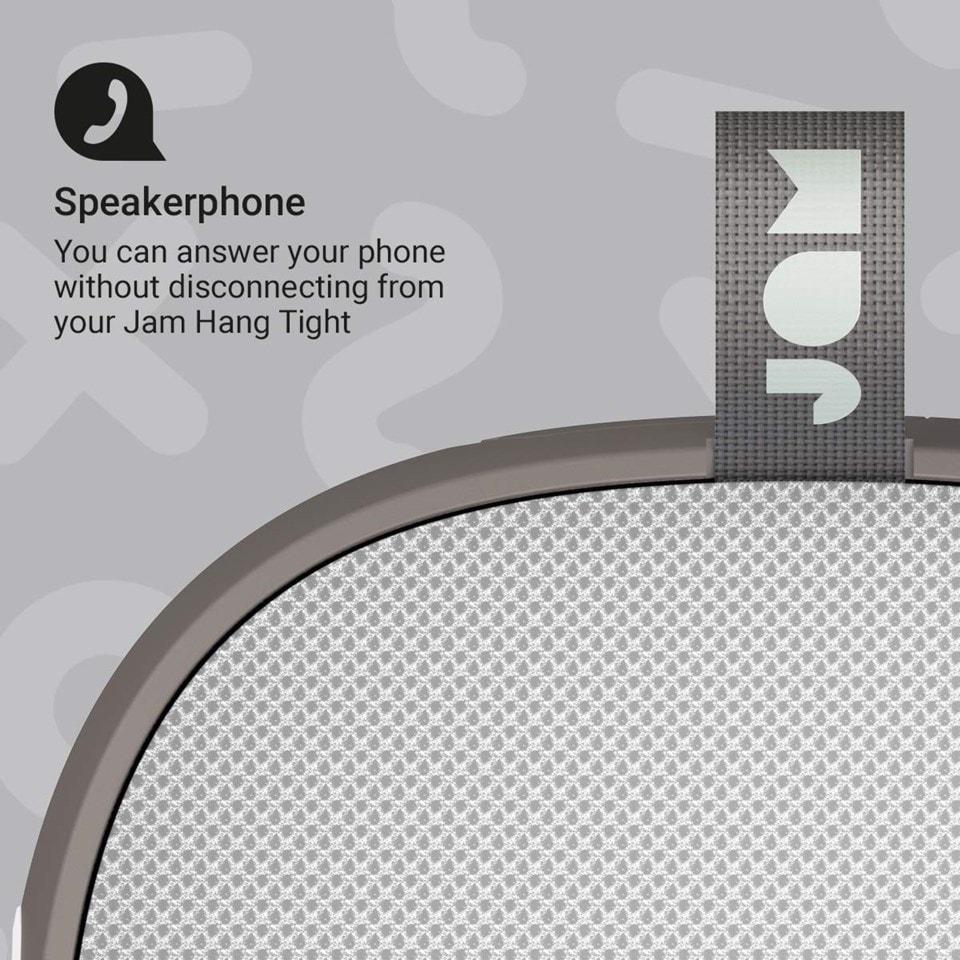 Jam Hang Tight Grey Bluetooth Speaker - 2