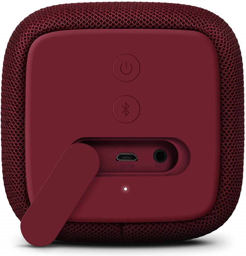 Fresh n Rebel Bold S Ruby Red Bluetooth Speaker - 2