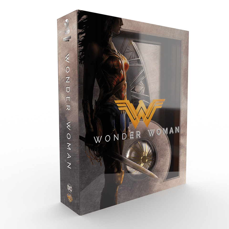 Wonder Woman Titans of Cult Limited Edition 4K Steelbook - 2