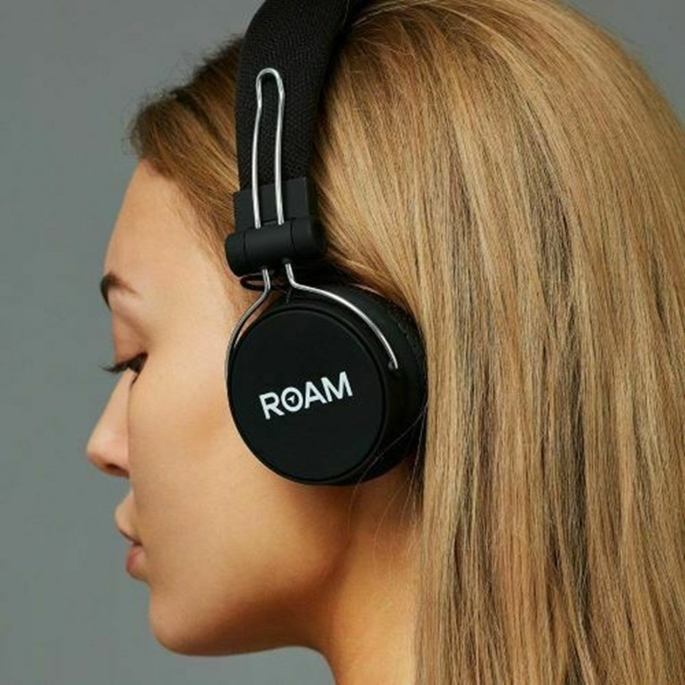 Journey Black Bluetooth Headphones - 4