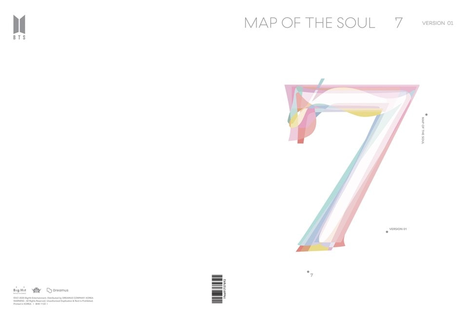 MAP OF THE SOUL: 7 (Version 1) - 2