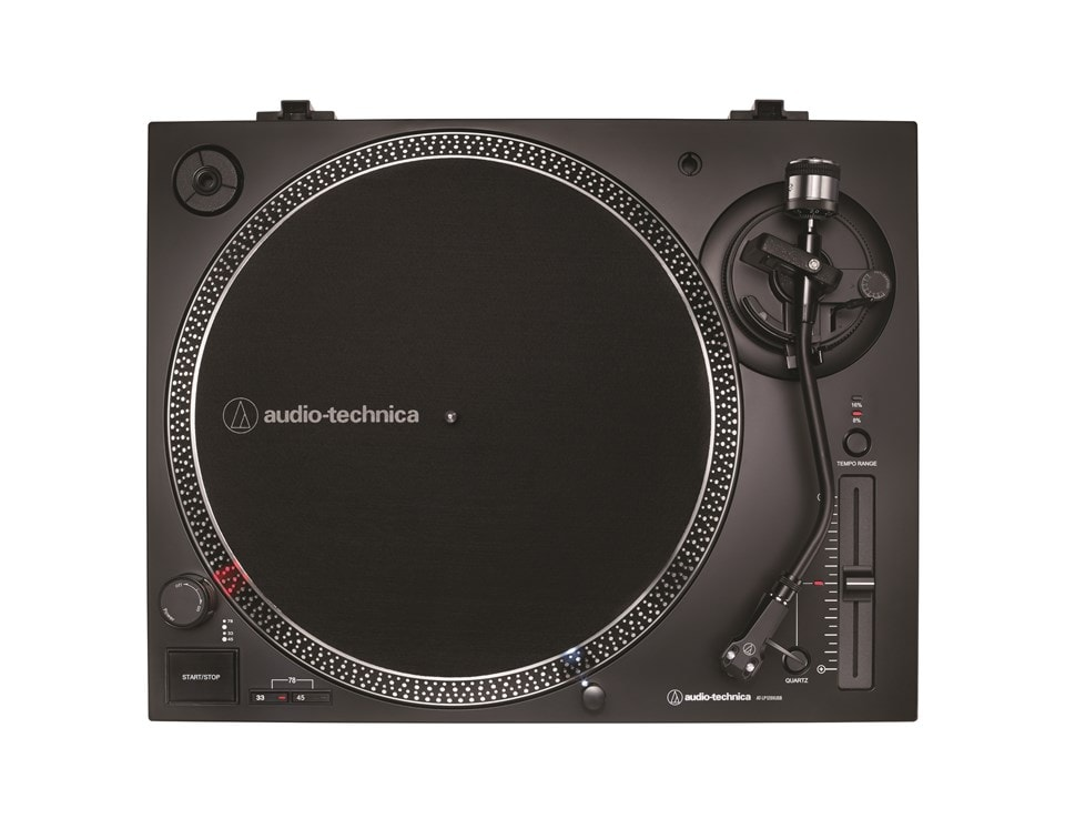 Audio Technica At-LP120X Black Direct-Drive Turntable - 2