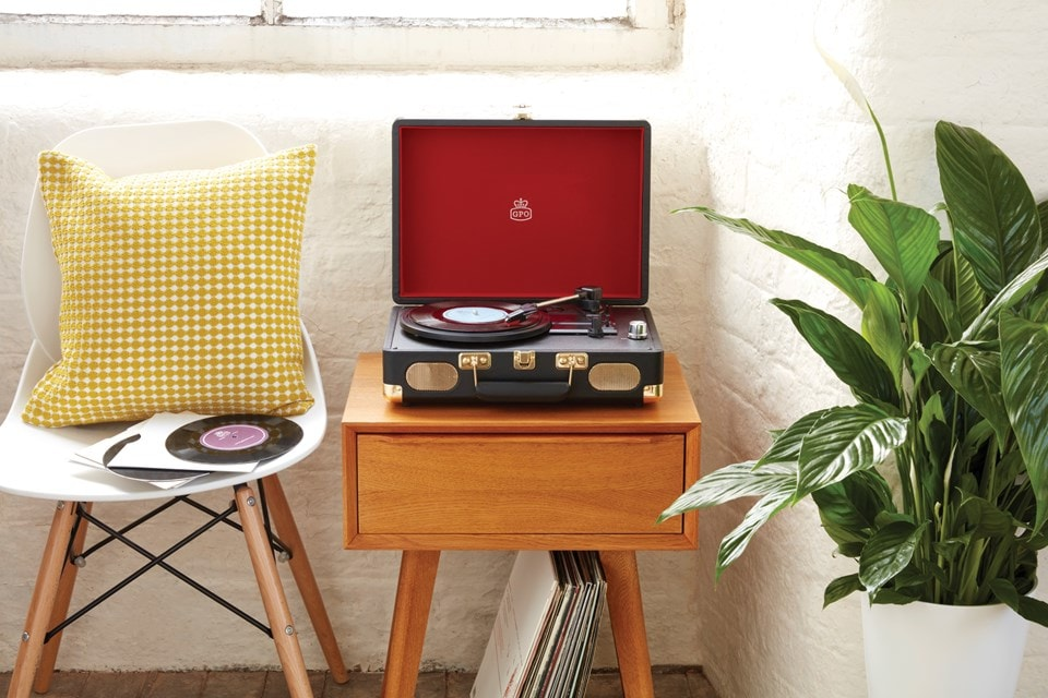 GPO Soho Black Turntable (hmv Exclusive) - 4