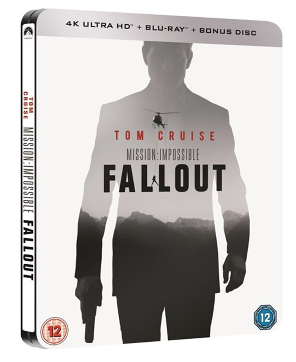 Mission: Impossible - Fallout (hmv Exclusive) 4K Ultra HD Steelbook - 1