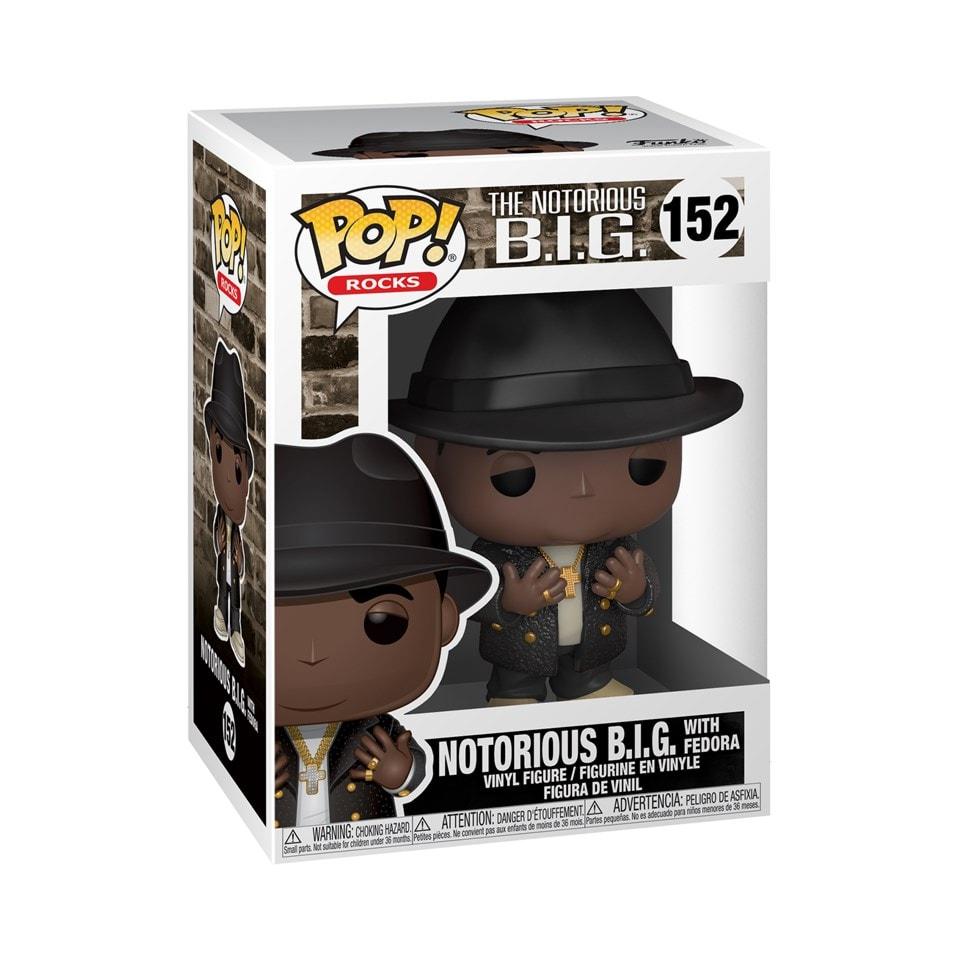Pop Vinyl: Notorious B.I.G With Fedora (152) - 2