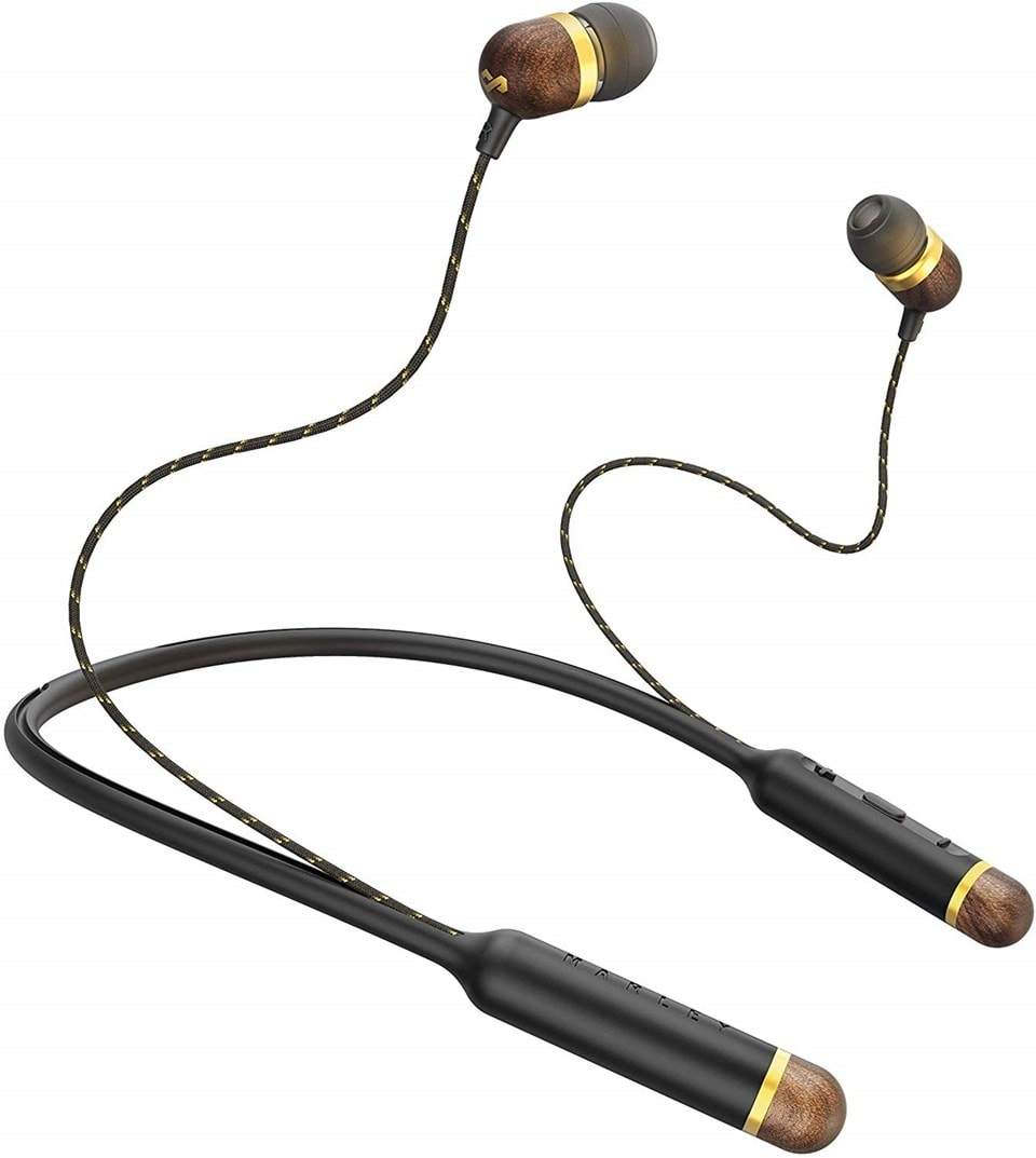 House Of Marley Smile Jamaica BT Brass Bluetooth Earphones (hmv Exclusive) - 1