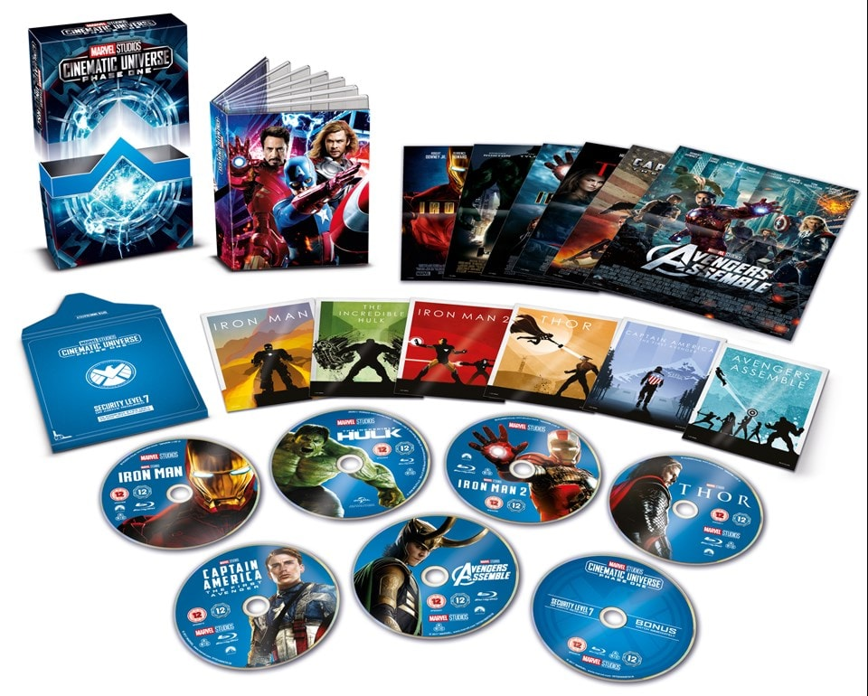 Marvel Studios Cinematic Universe: Phase One - 3