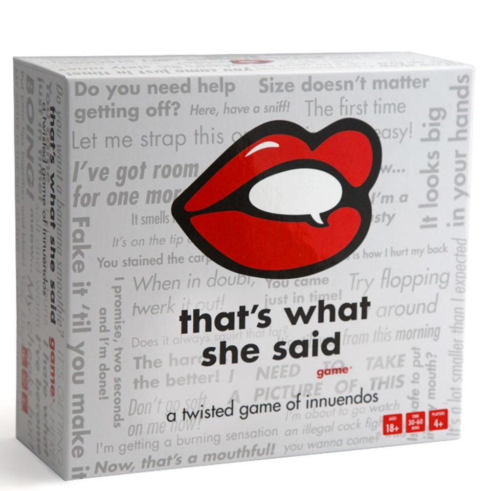 That's What She Said - 1
