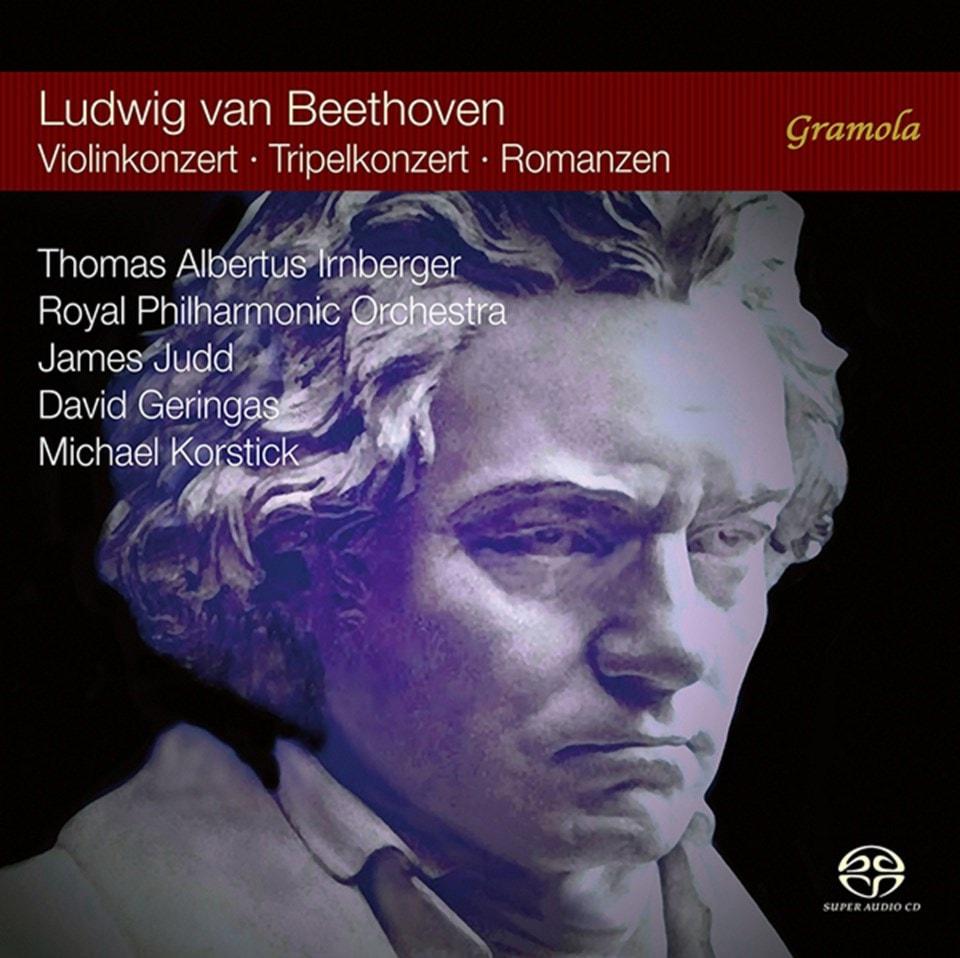 Ludwig Van Beethoven: Violinkonzert/Tripelkonzert/Romanzen - 1