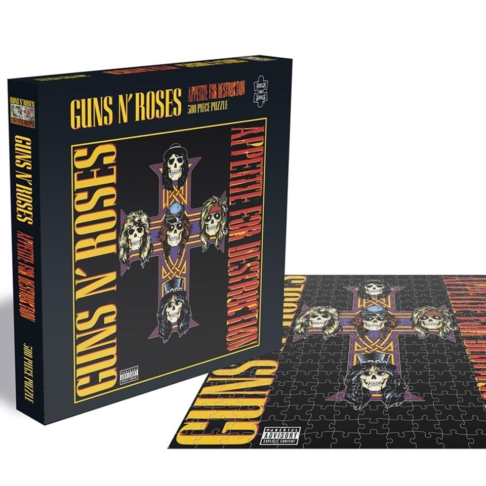 Guns N Roses - Appetite For Destruction 2: 500 Piece Jigsaw Puzzle - 1