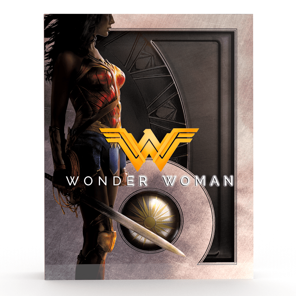 Wonder Woman Titans of Cult Limited Edition 4K Steelbook - 1