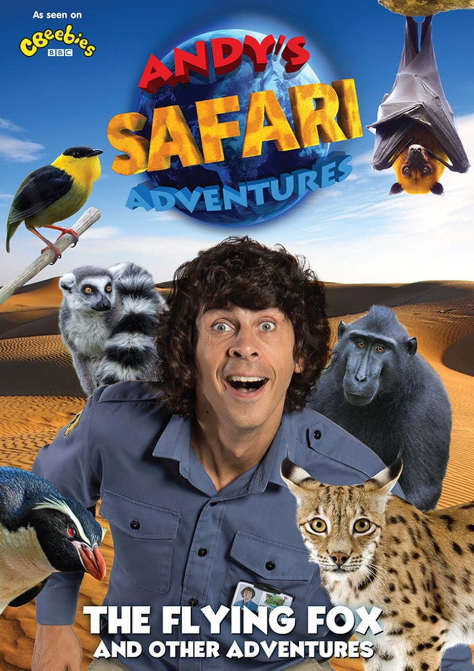 Andy's Safari Adventures: The Flying Fox and Other Adventures - 1