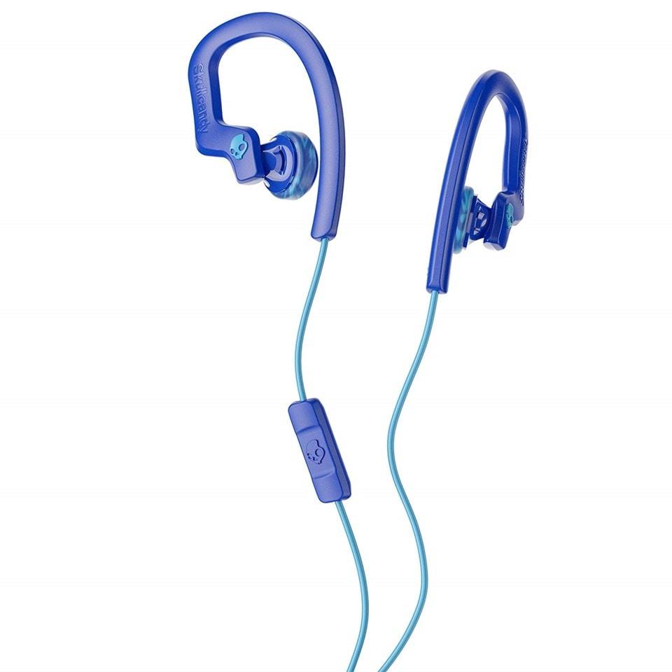 Skullcandy Chops Bud Royal/Blue/Swirl Sports Earphones - 1