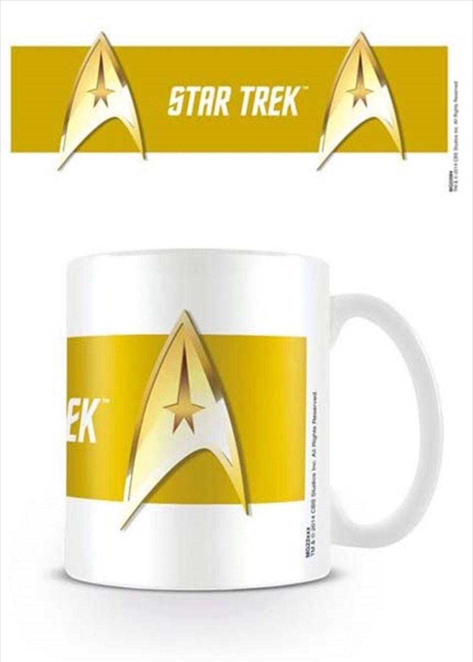 Mug: Star Trek: Command Gold - 1