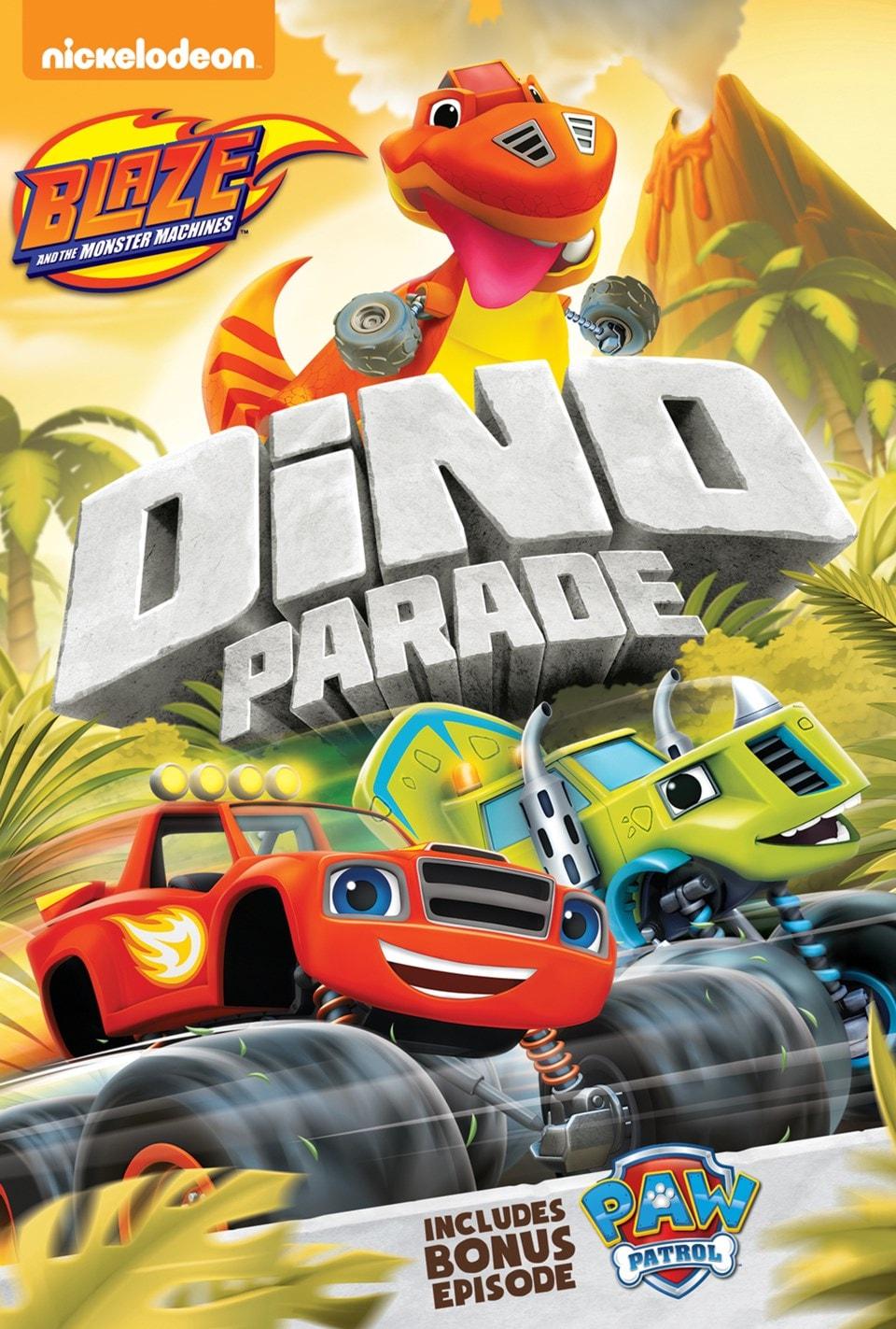 Blaze and the Monster Machines: Dino Parade - 1