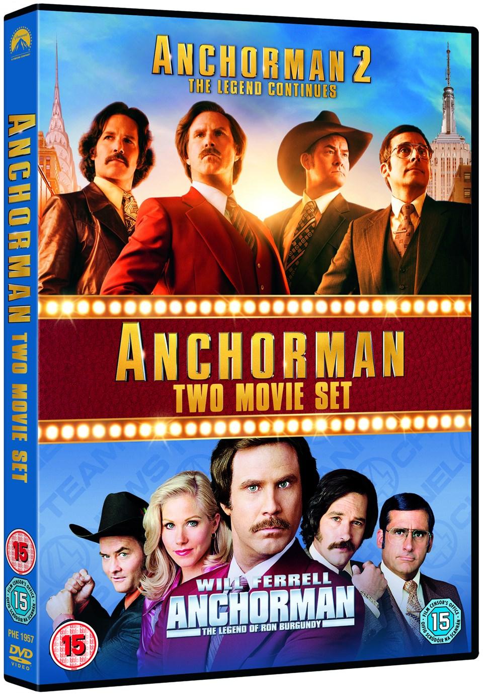 Anchorman/Anchorman 2 - 1