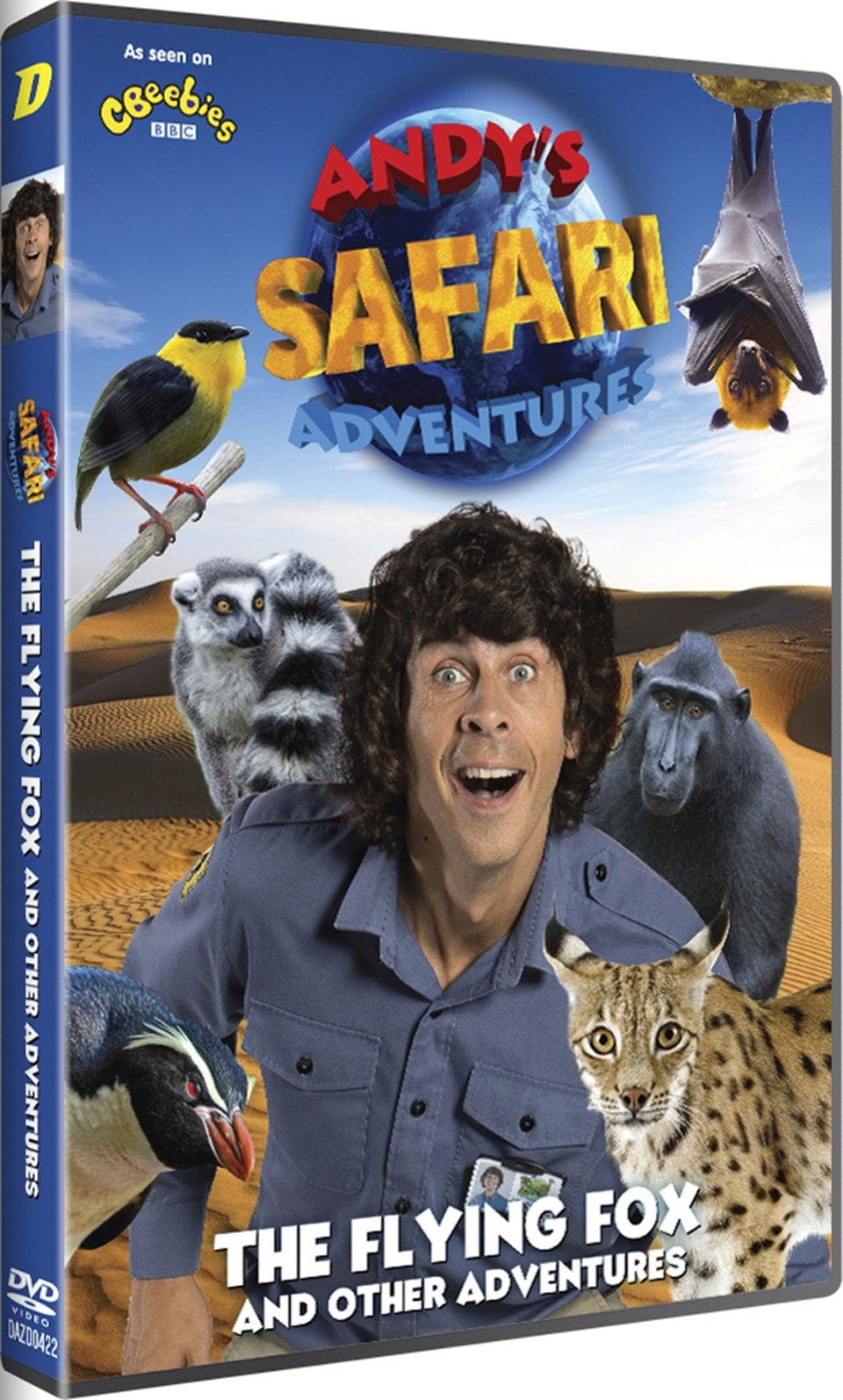 Andy's Safari Adventures: The Flying Fox and Other Adventures - 2