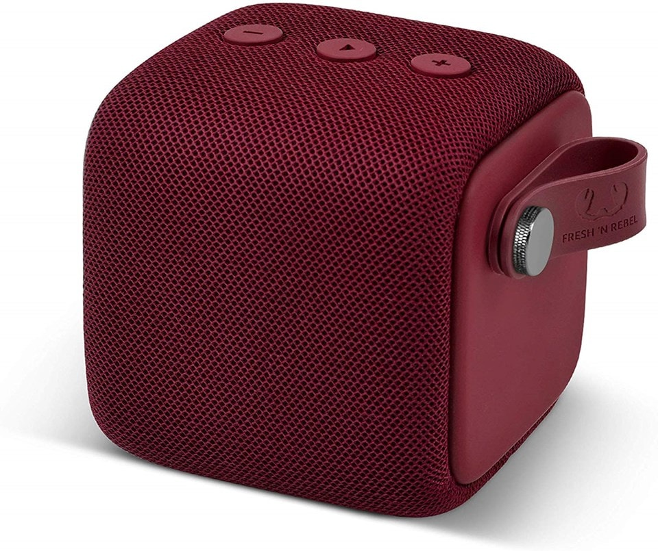 Fresh n Rebel Bold S Ruby Red Bluetooth Speaker - 1