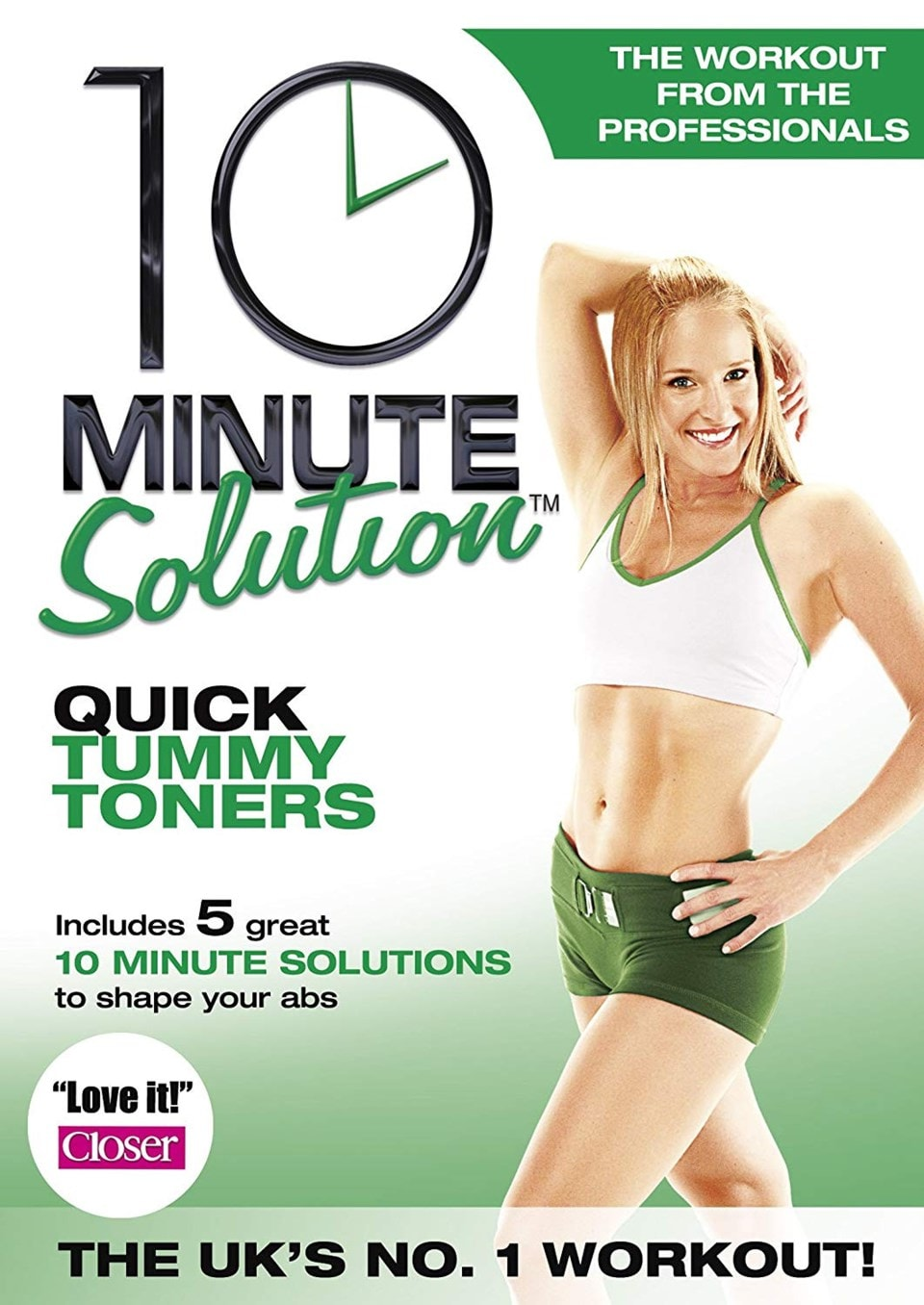 10 Minute Solution: Quick Tummy Toners - 1