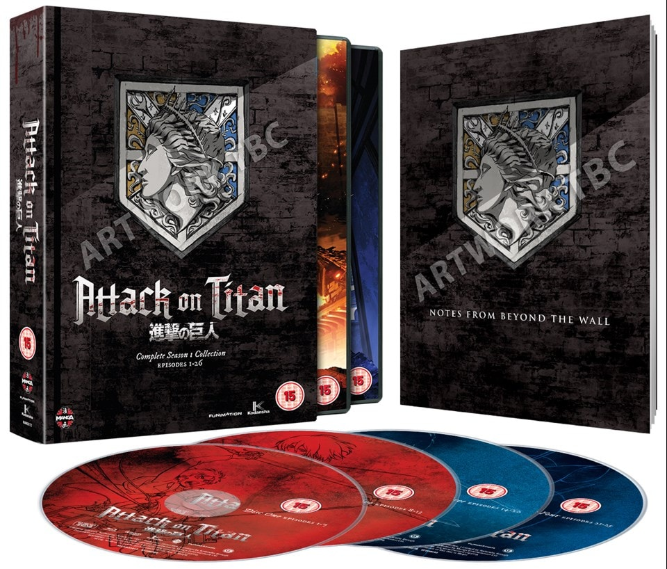 Attack On Titan: Complete Season One Collection - 2