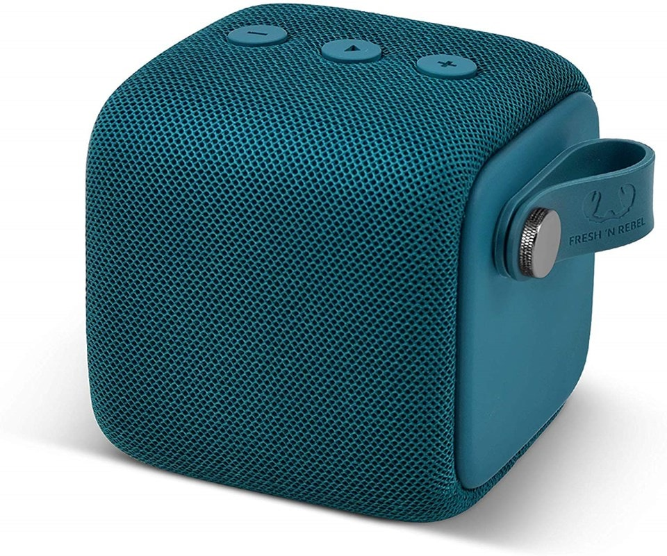 Fresh n Rebel Bold S Petrol Blue Bluetooth Speaker - 1