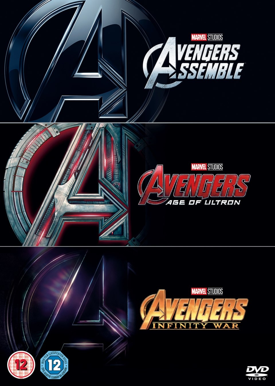 Avengers: 3-movie Collection - 1