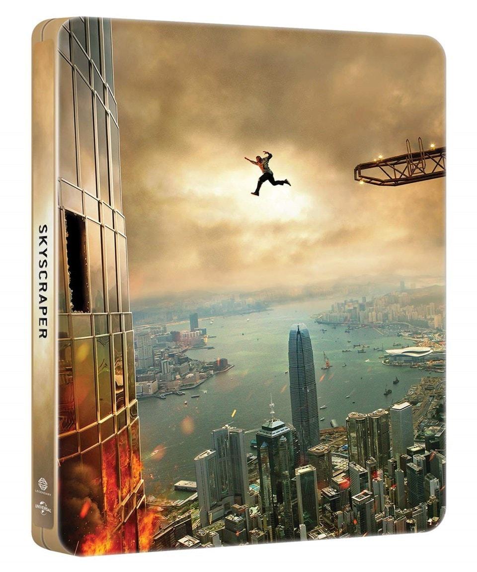 Skyscraper (hmv Exclusive) 4K Ultra HD Steelbook - 1