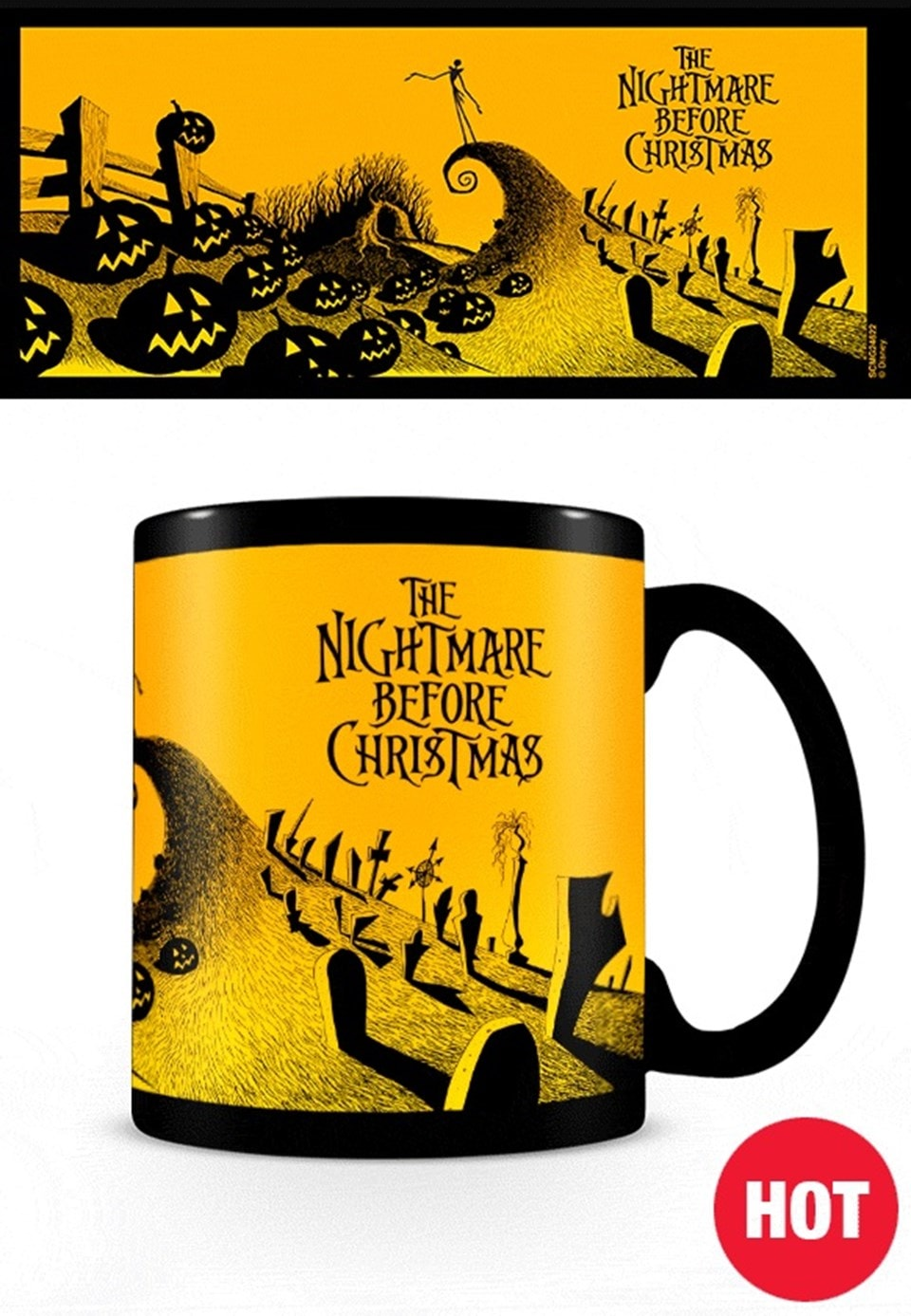 Nightmare Before Christmas Heat Chage Mug - 2