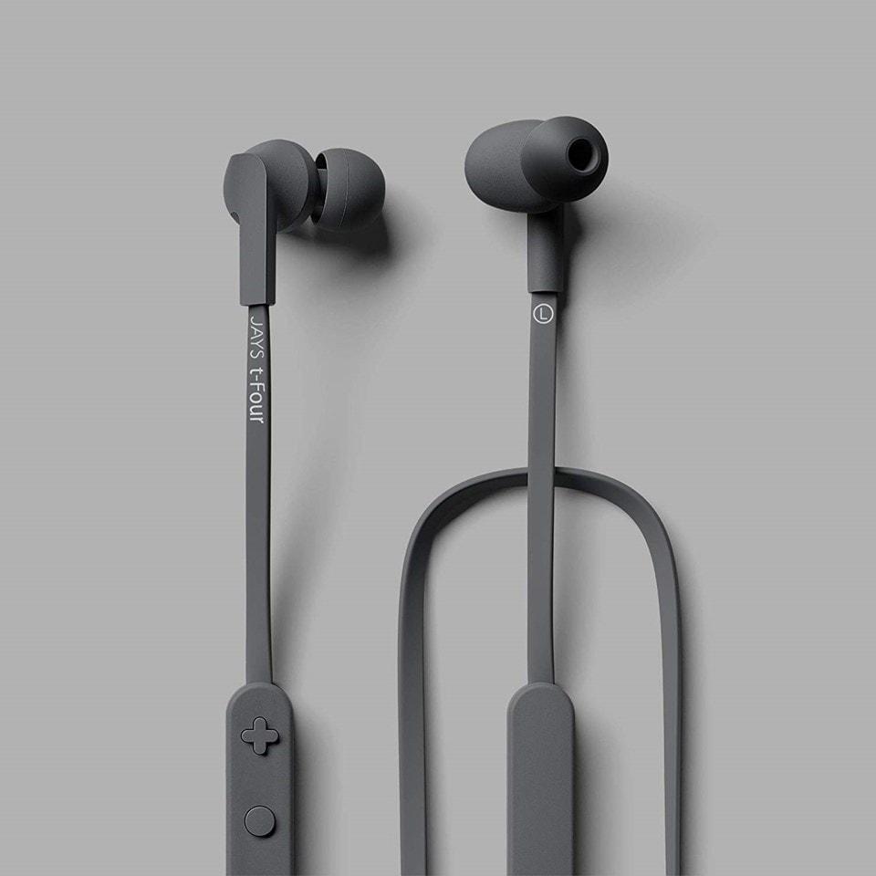 Jays T-Four Grey Bluetooth Earphones - 2