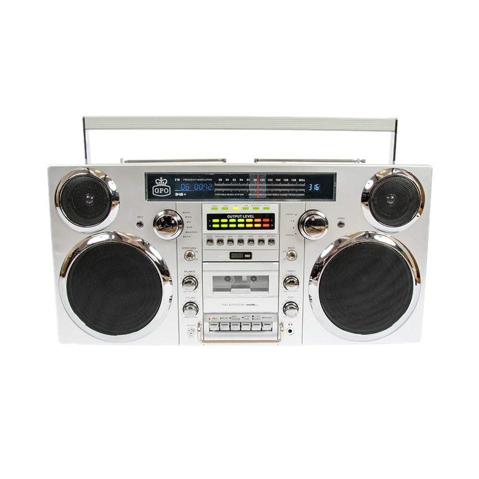 GPO Brooklyn Portable Boombox - 1