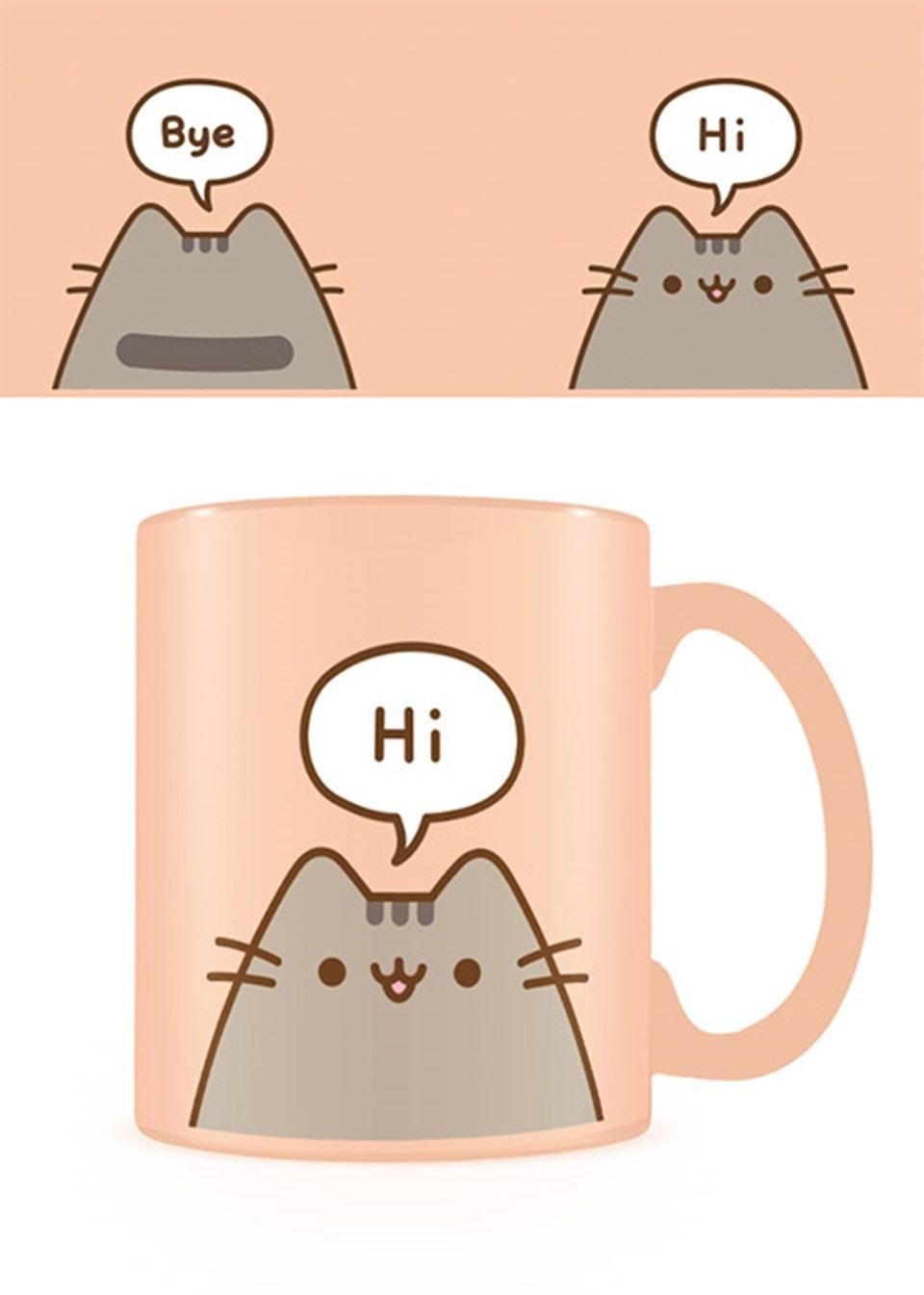 Mug: Pusheen: Hello Goodbye 11oz Mug - 1