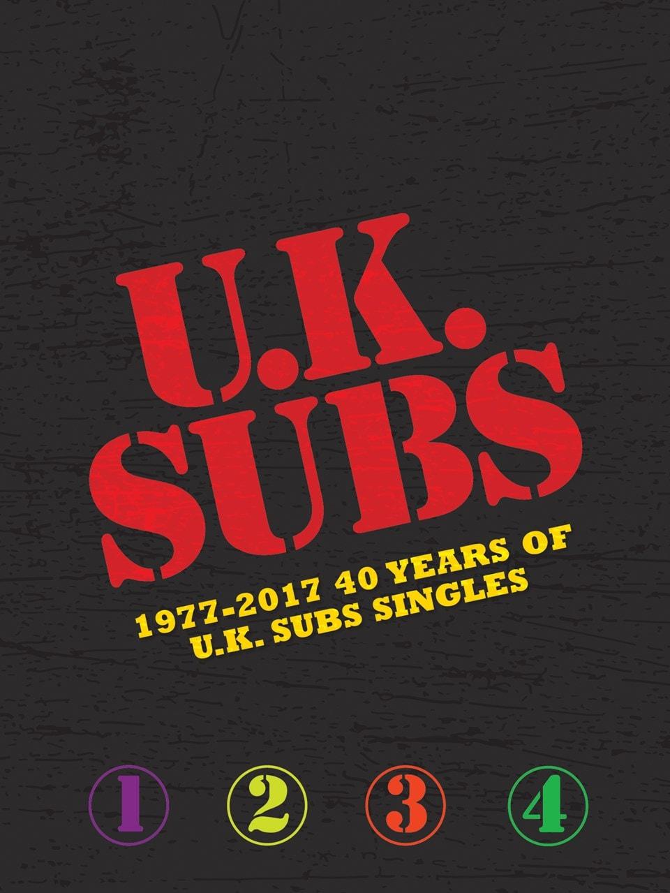 1977-2017: 40 Years of U.K. Subs Singles - 1